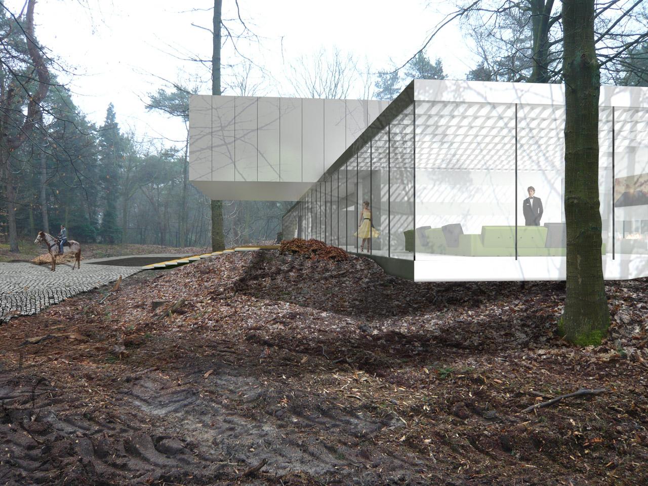 123dv   bos en duin   architecture   moderne villa's