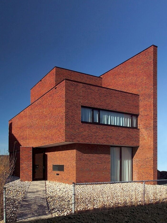 123DV Brick Wall House bakstenen